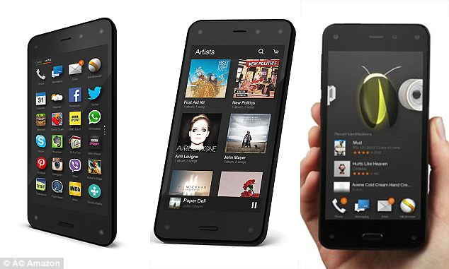 Amazon slashes price of Fire Phone to 99 cents, just one day before Apple is reportedly set to unveil the iPhone 6 Read more: http://www.dailymail.co.uk/news/article-2748685/Amazon-slashes-price-Fire-Phone-99-cents-bid-compete-Apple-just-one-day-iPhone-6-unveiled.html#ixzz3CuaKfrj4 Follow us: @MailOnline on Twitter | DailyMail on Facebook