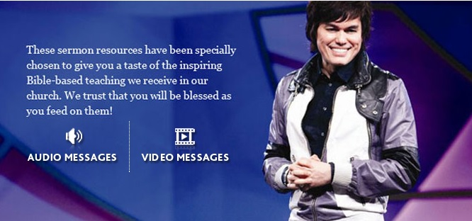 joseph prince messages