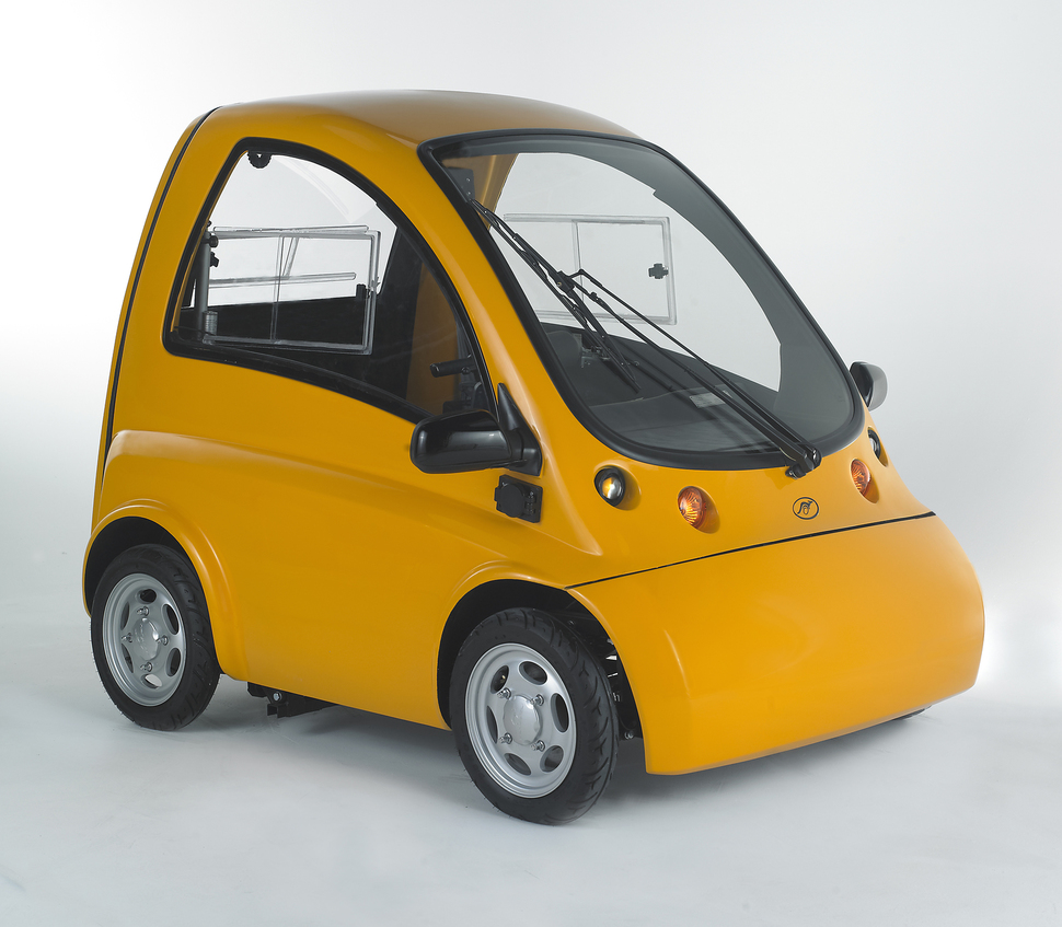 Single-Person Electric Car_7