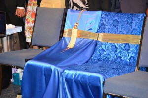 chairs reserved for the late munroes