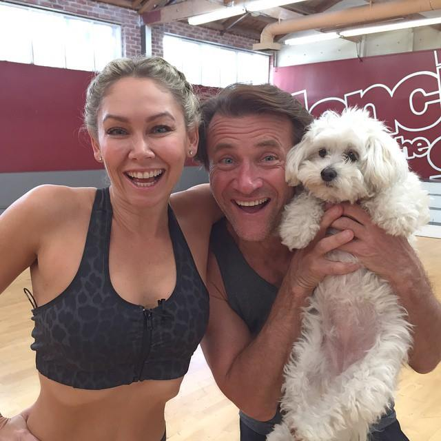 robert dating dancing with the stars partner