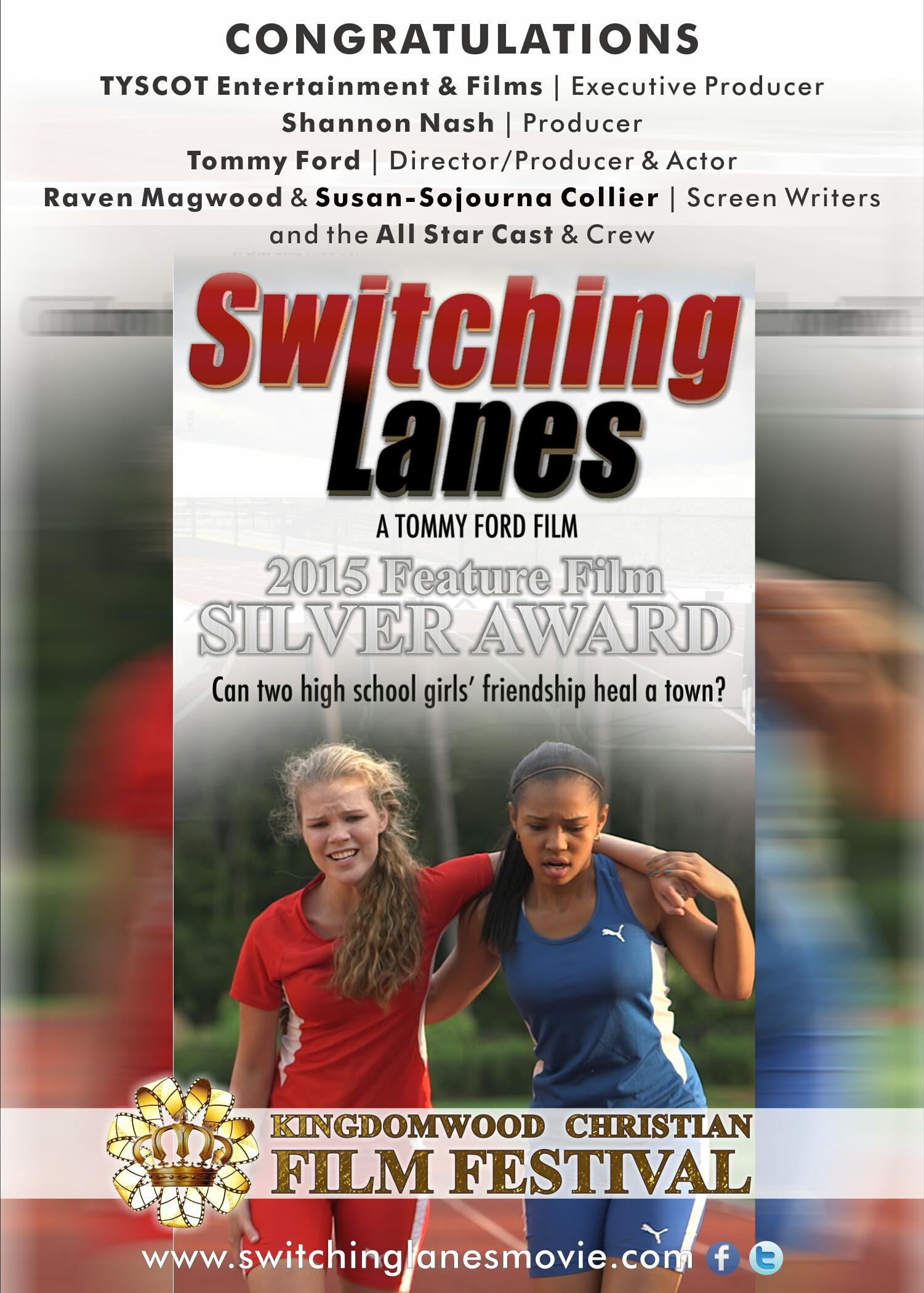 Switching Lanes follows the story of two girls