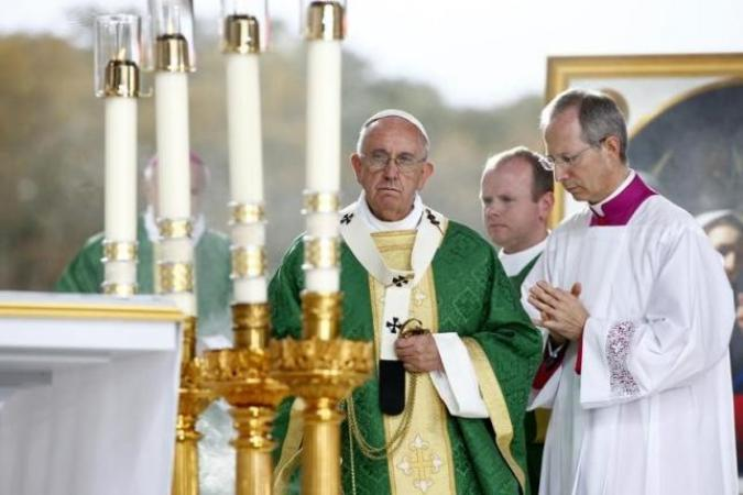 Pope names five new cardinals, all from outside Italy and the Vatican