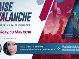 praise avalanche by Jubilee Church Manchester